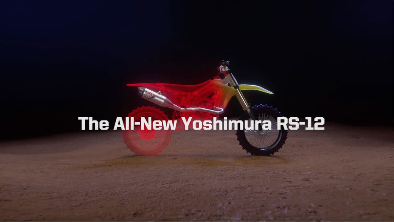 Yoshimura RS12 3D Product Commercial