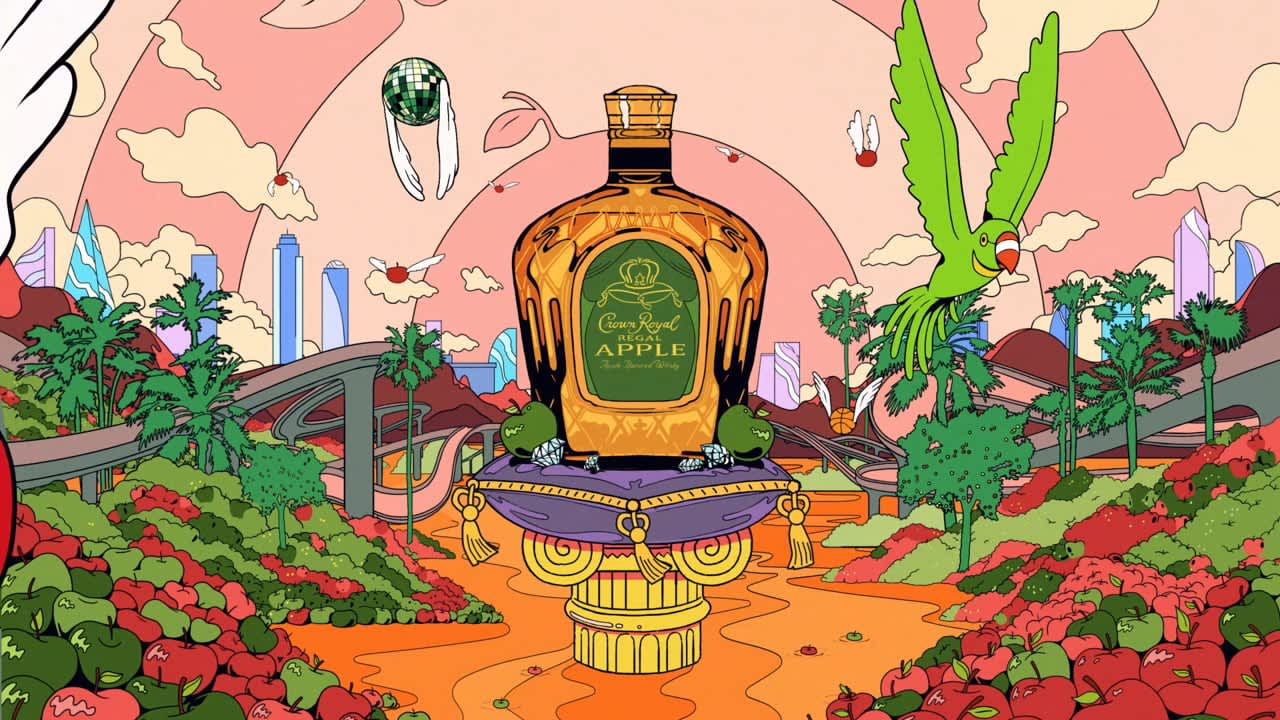 Crown Apple Rebrand: To The Core