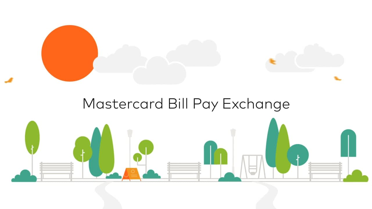 Mastercard - Bill Pay Exchange - Explainer/Infographic version