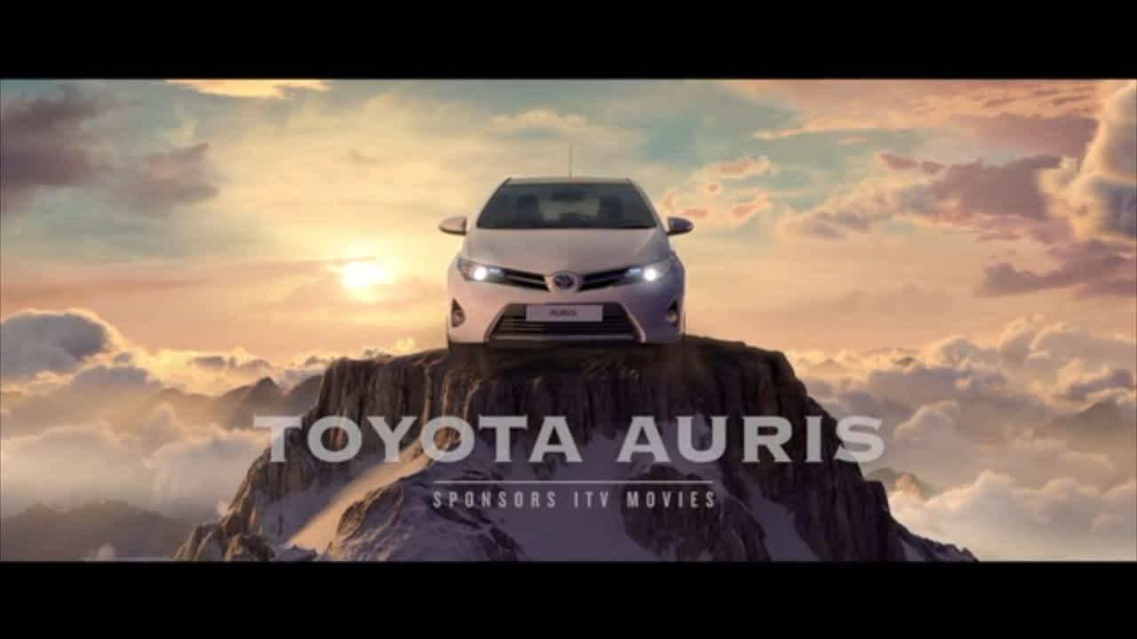 Toyota Sponsors Movies on ITV.