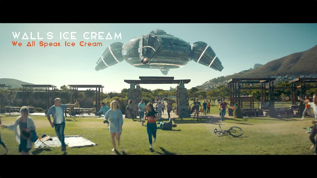 "WALL'S ""We All Speak Ice Cream"""
