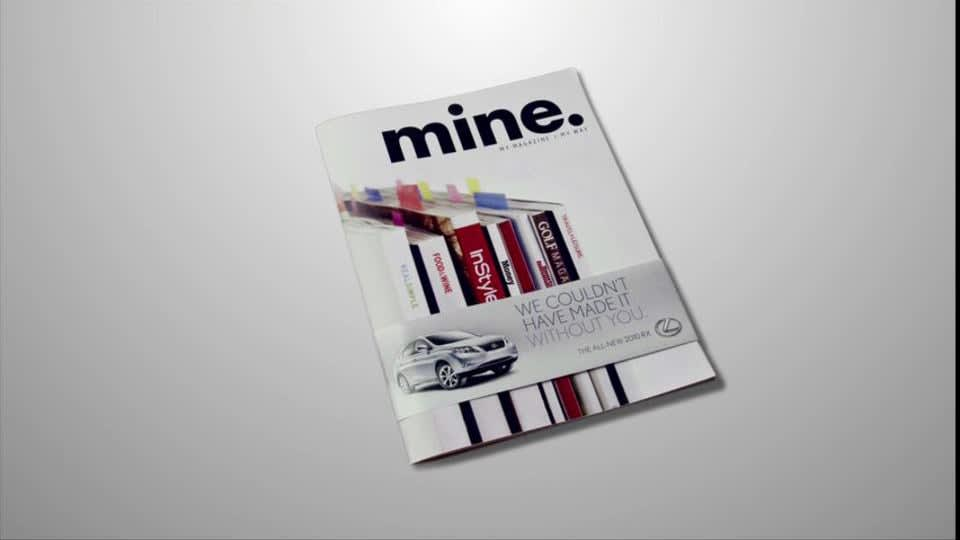 Mine Magazine + RX launch Campaign