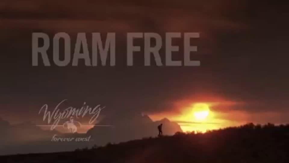 Wyoming Roam Free