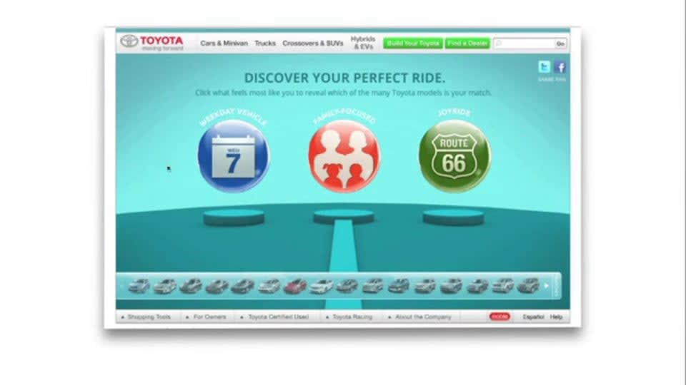Toyota: Find Your Match