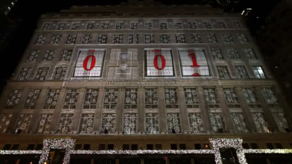 Saks Fifth Avenue: Projection Mapping