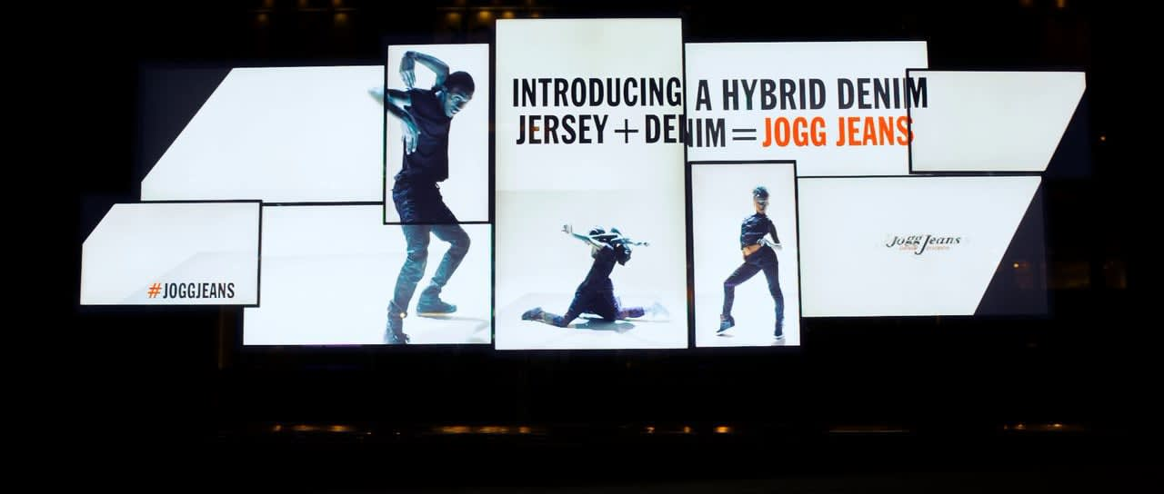 Diesel Video Wall 5th Ave NYC