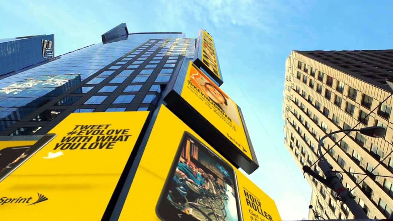 Sprint - Unlimited Love Billboard