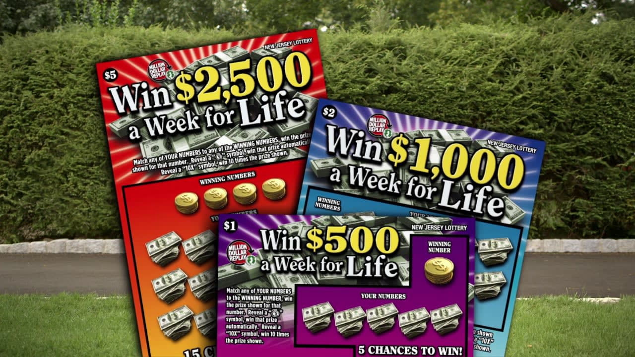 """New Jersey Lottery: """"Win For LIfe"""""""