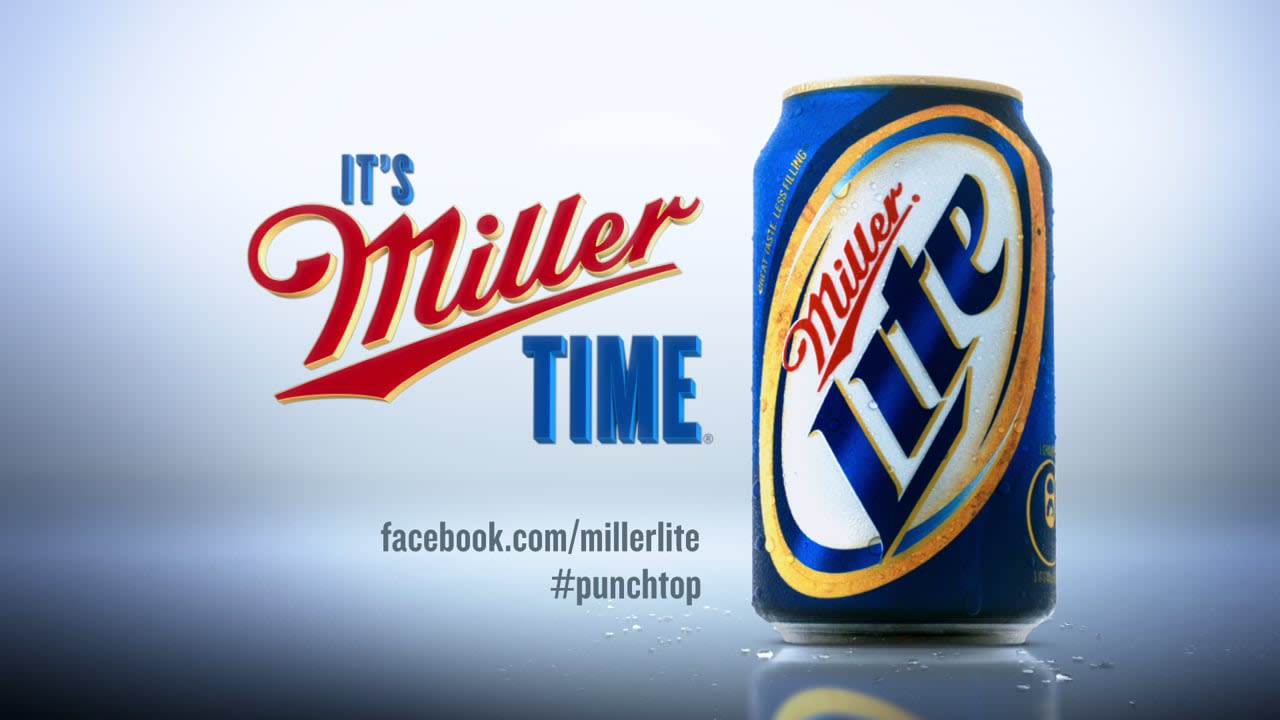 Miller Lite Punchtop Can