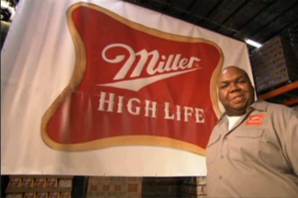 High Life 1-Second Superbowl campaign