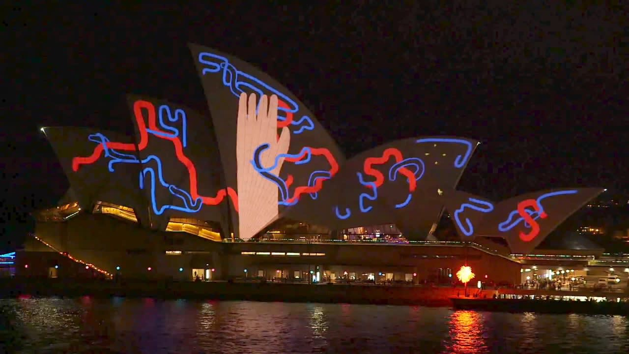 Sydney Opera House: Living Mural