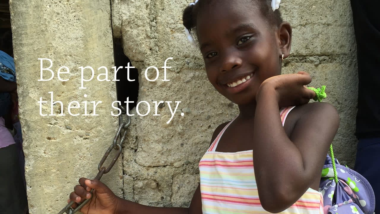 World Vision: Be Part of Their Story
