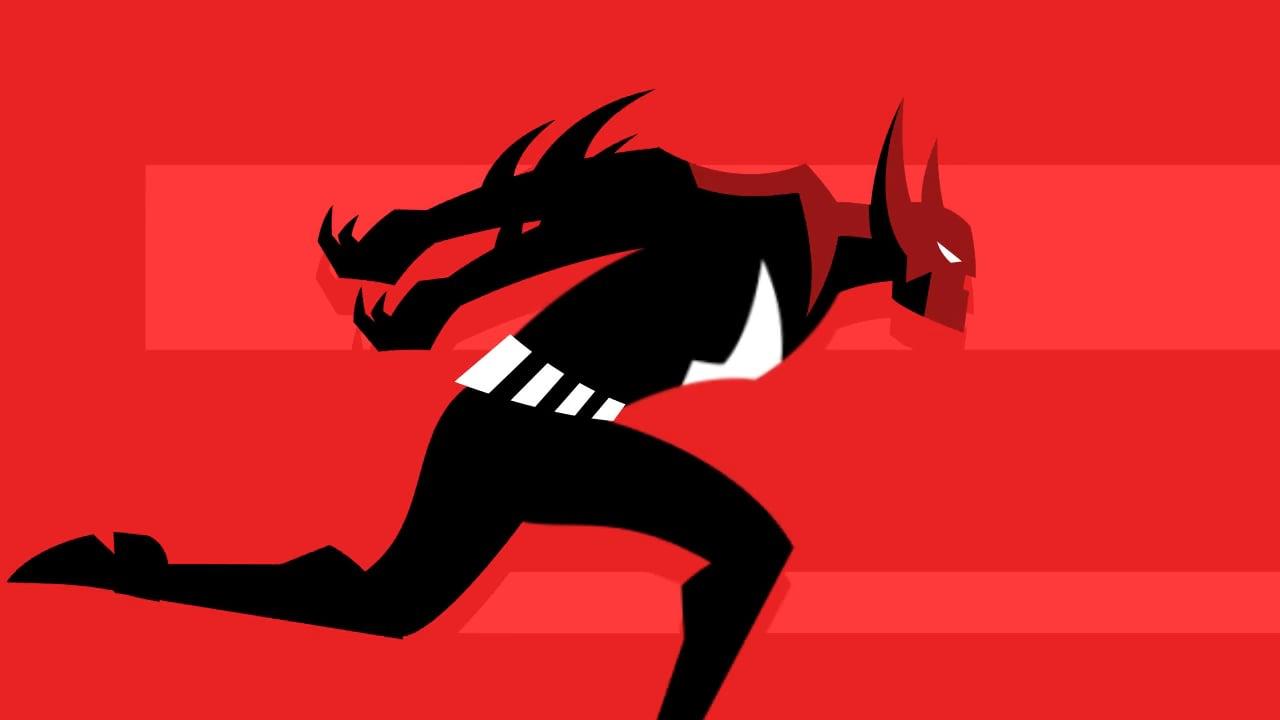 Batman Beyond Run Cycle