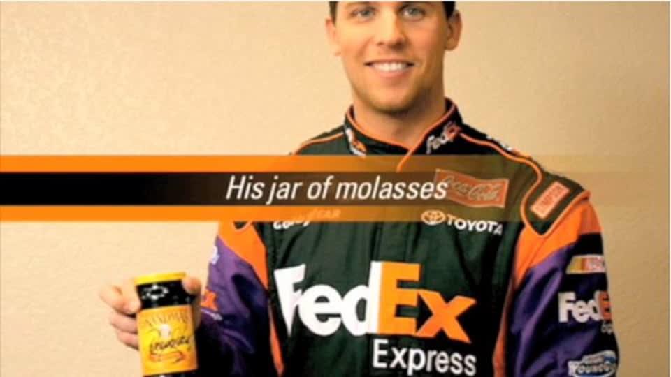 FedEx Racing eBay Sale With Denny Hamlin
