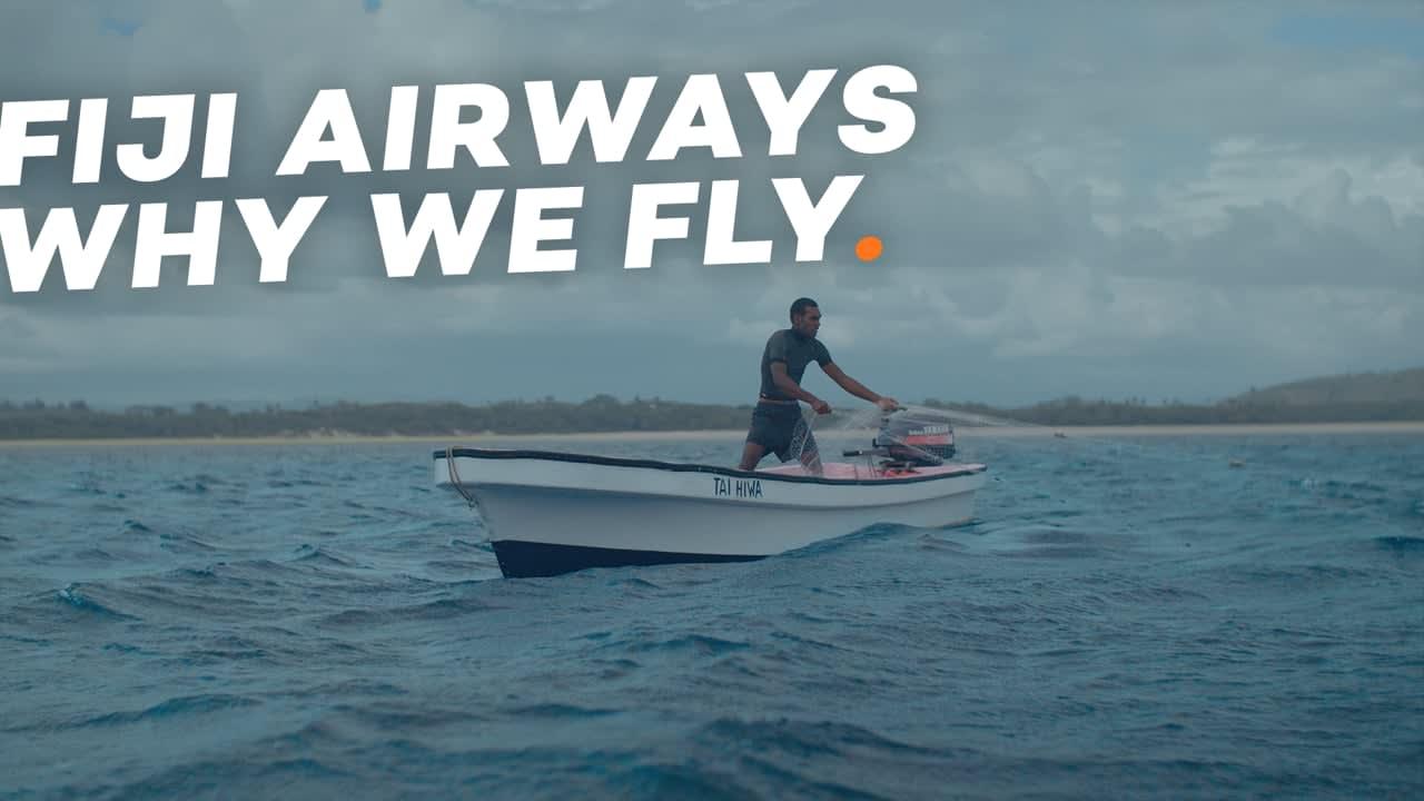 Fiji Airways × Why We Fly