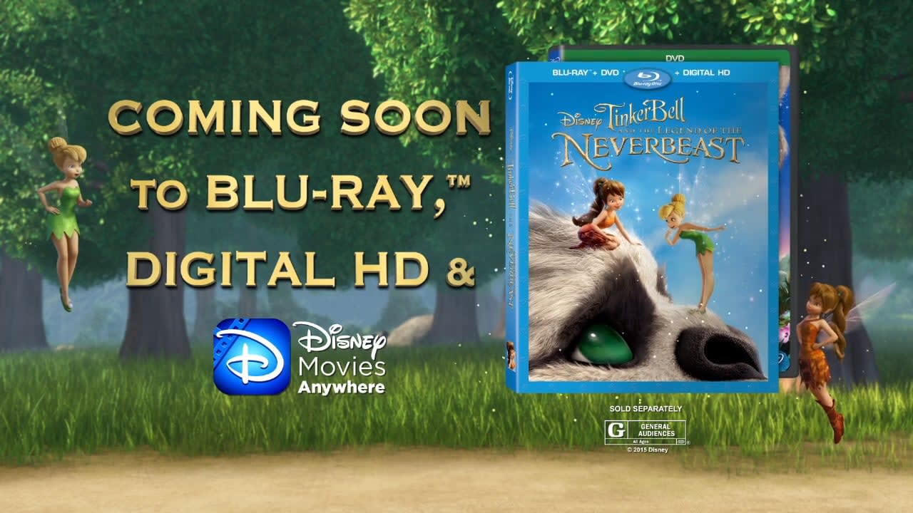Tinkerbell & the Legend of the Neverbeast Home Entertainment Promo