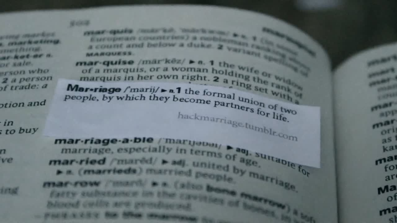Hack Marriage