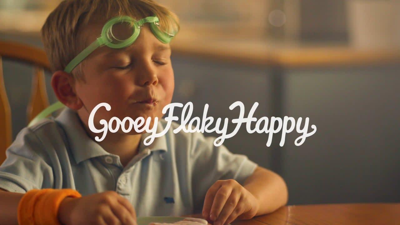 "Toaster Strudel - Gooey Flakey Happy - ""Casual Friday"""