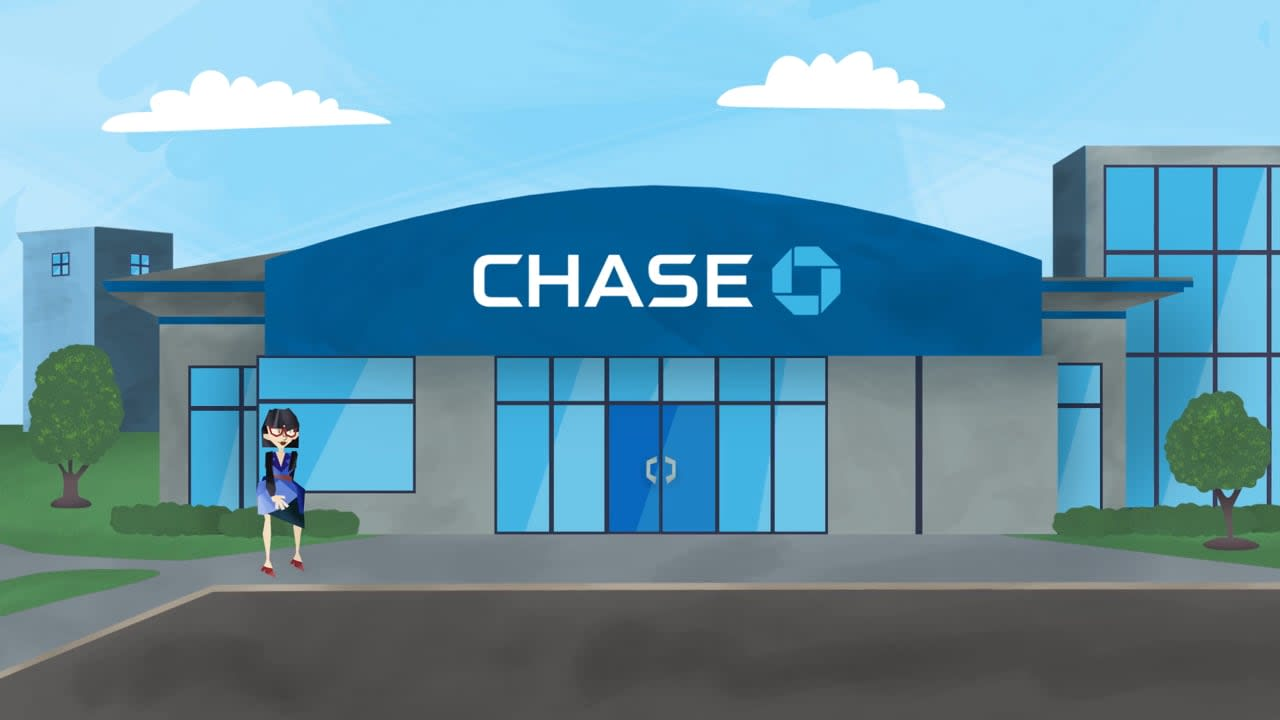 """Chase Bank """"Chase For Business"""""""