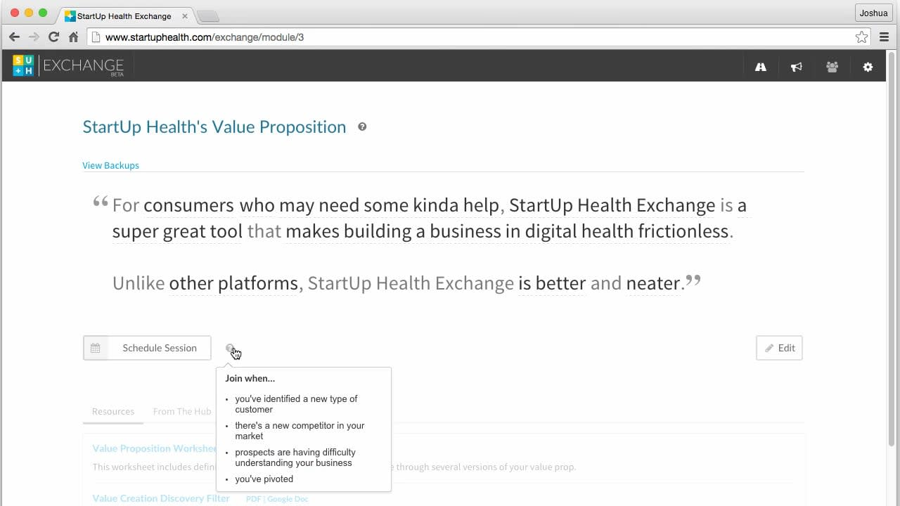 Startup Academy Beta App