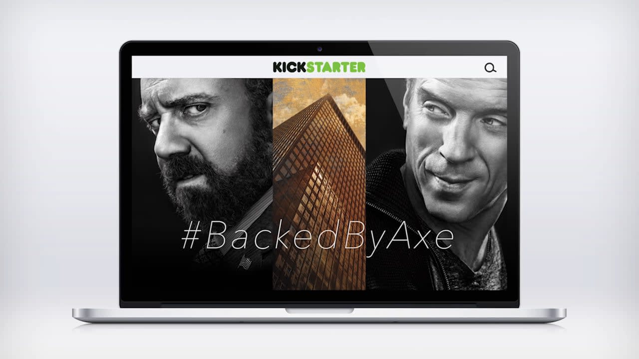 SHOWTIME - BACKED BY AXE