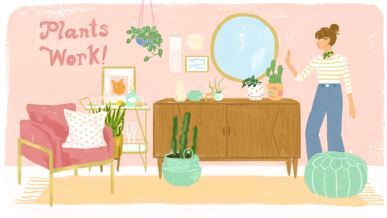Apartment Therapy + ForRent.com Illustrations