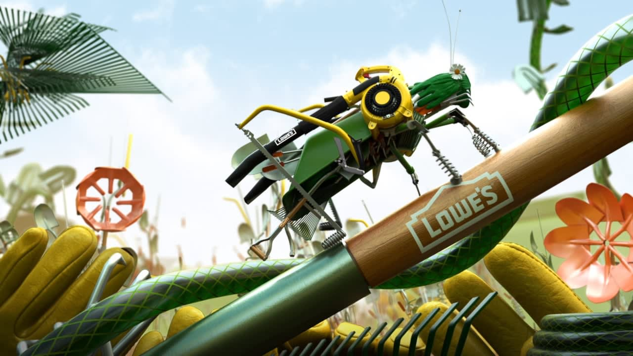 TBS x Lowes: Lawn Bots