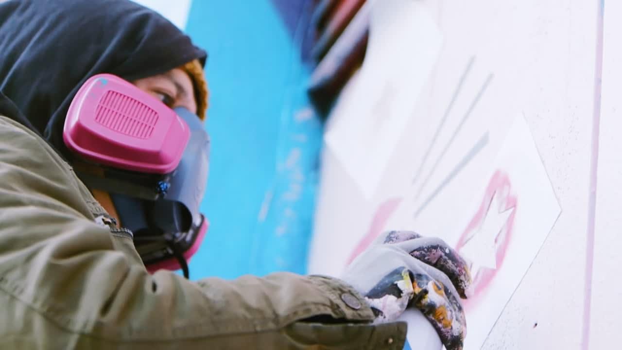 Moët: Bottle Launch & Love Mural