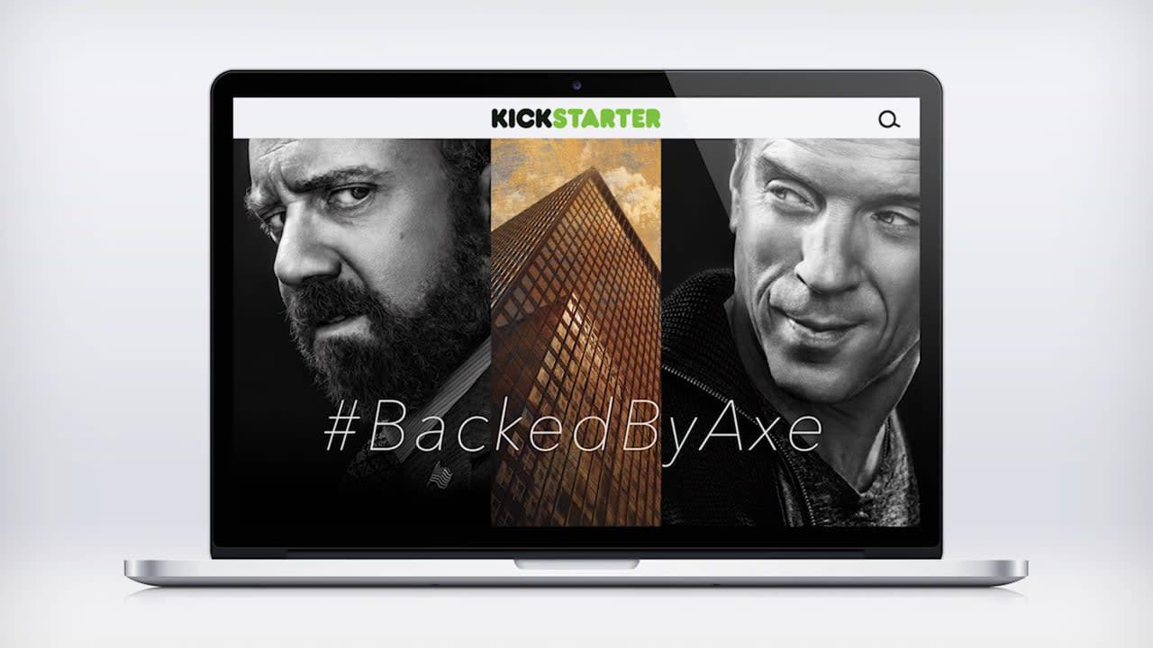 Showtime #BackedByAxe