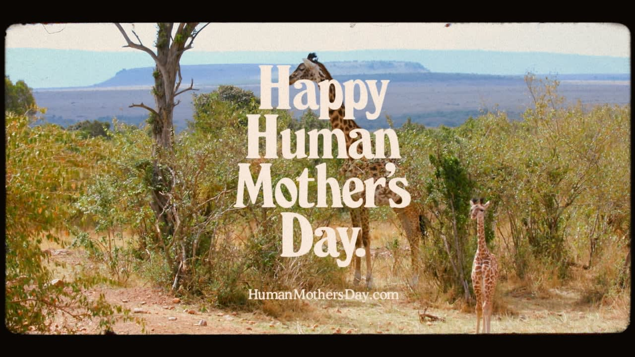 Happy Human Mother's Day