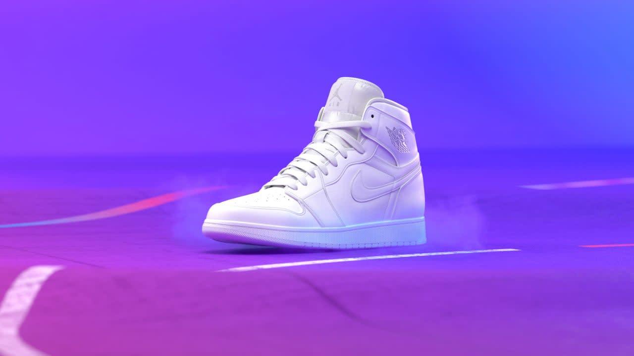 Nike White Hot 2.0 - Air Jordan 1