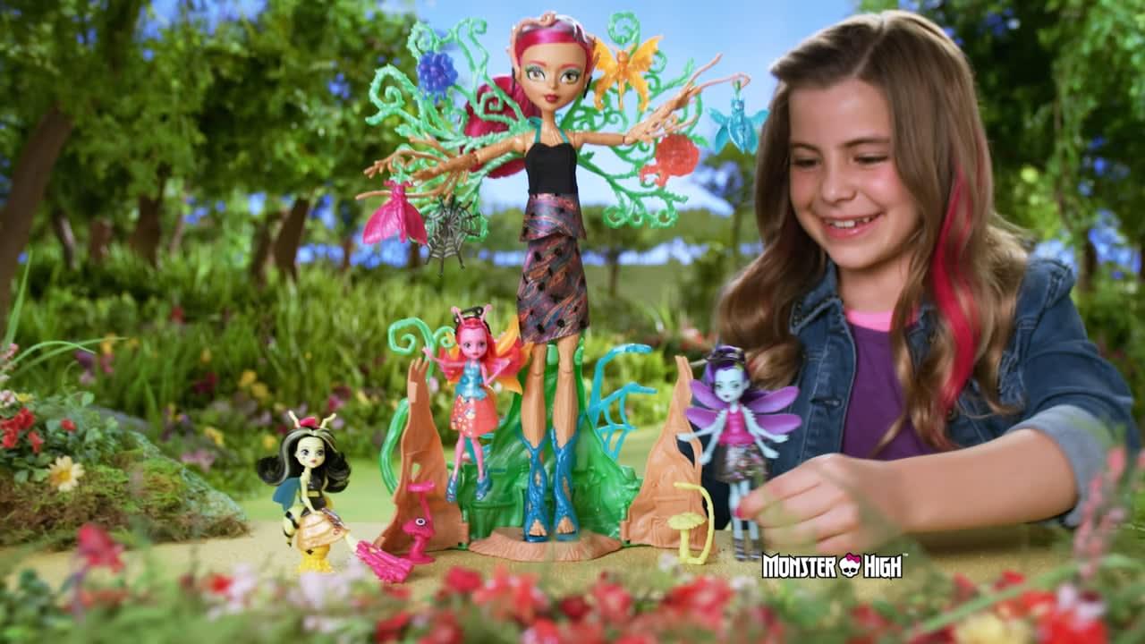 Monster High Treesa Garden Ghouls TVC