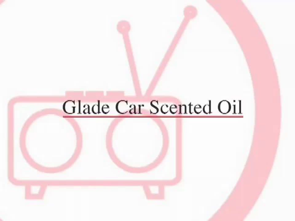 """""""Smelly Ride"""" Glade Car Scented Oil"""
