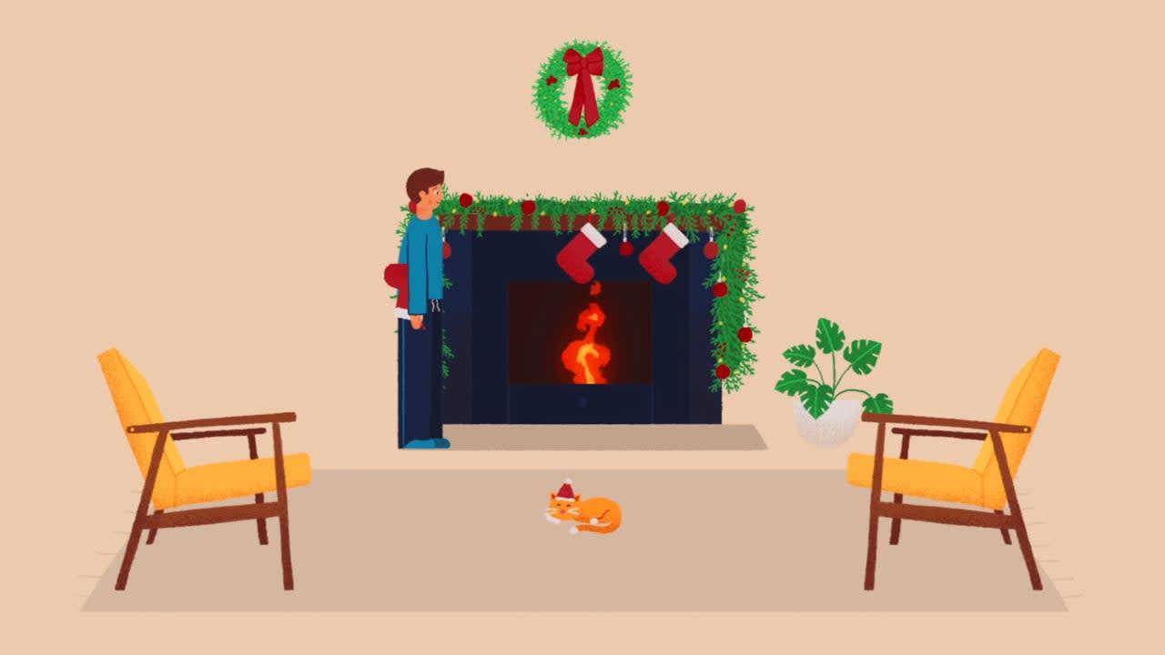Bam Organic Christmas Animation