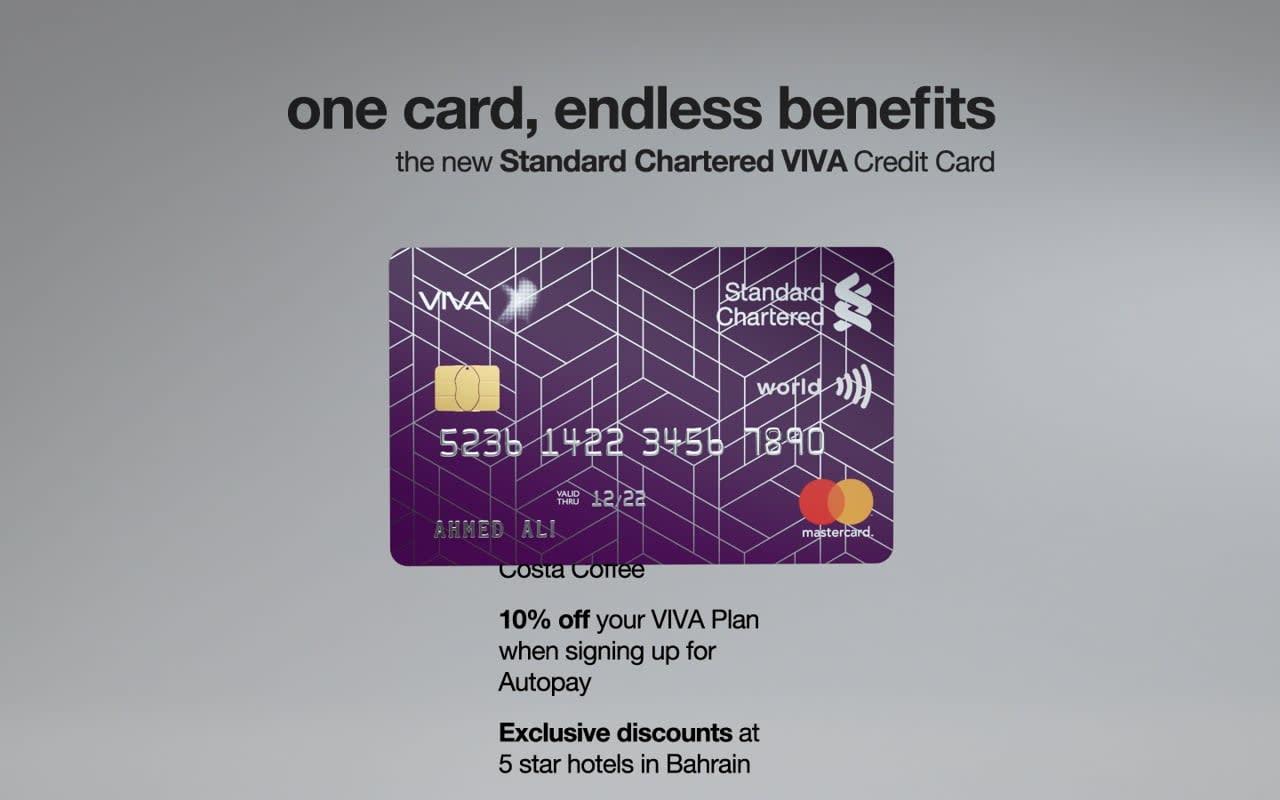Standard Chartered VIVA Credit Card
