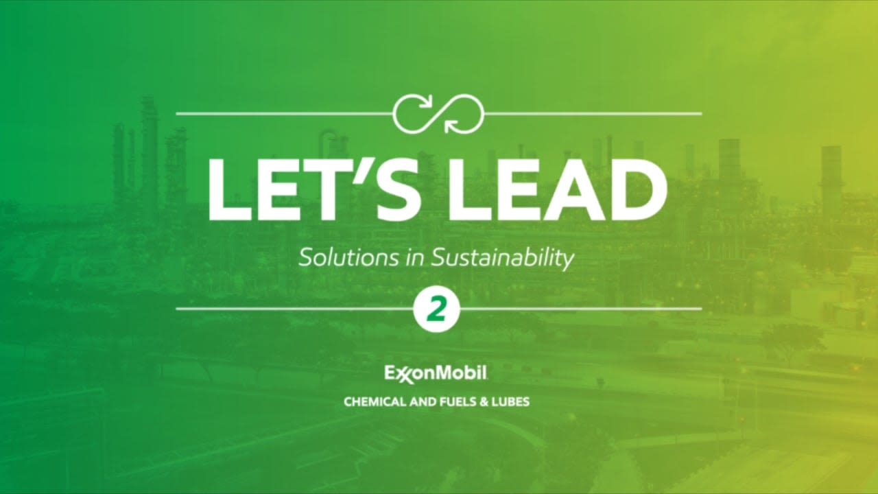 """Exxon """"Let's Lead"""""""