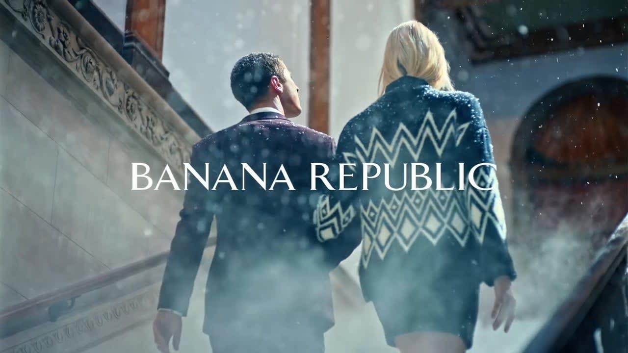"""Banana Republic """"Holiday Campaign"""""""