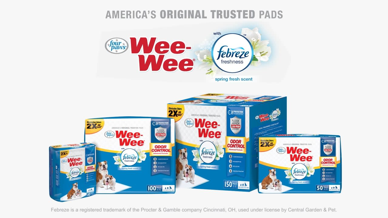 Wee Wee Pads with Febreze
