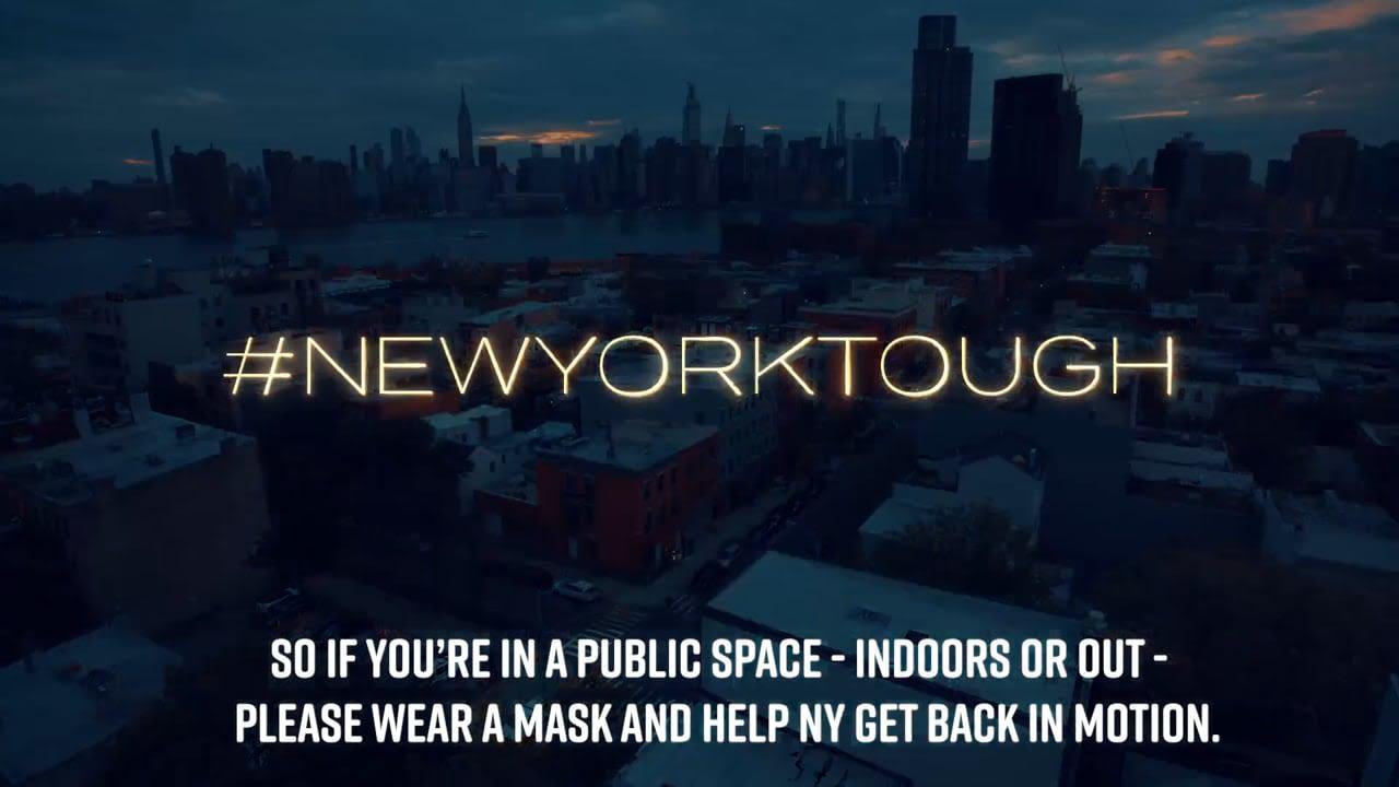 PSA - #NewYorkTough #WearAMask