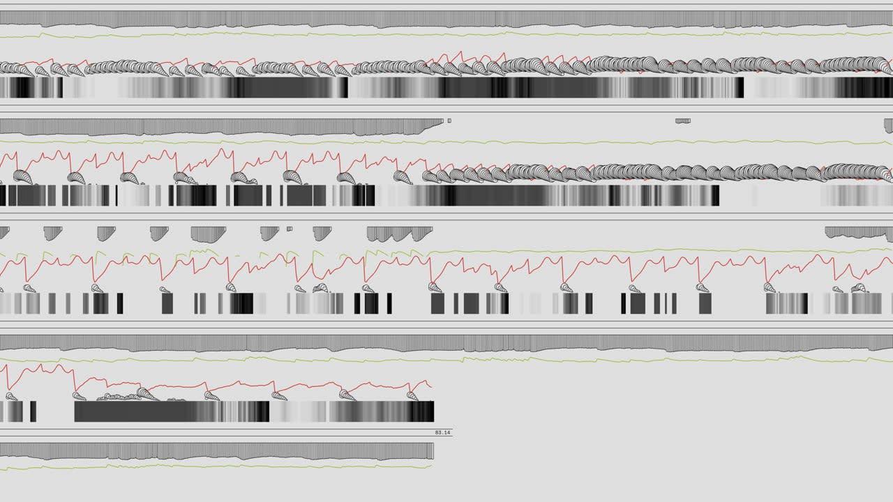 Generative Music Video for Model86