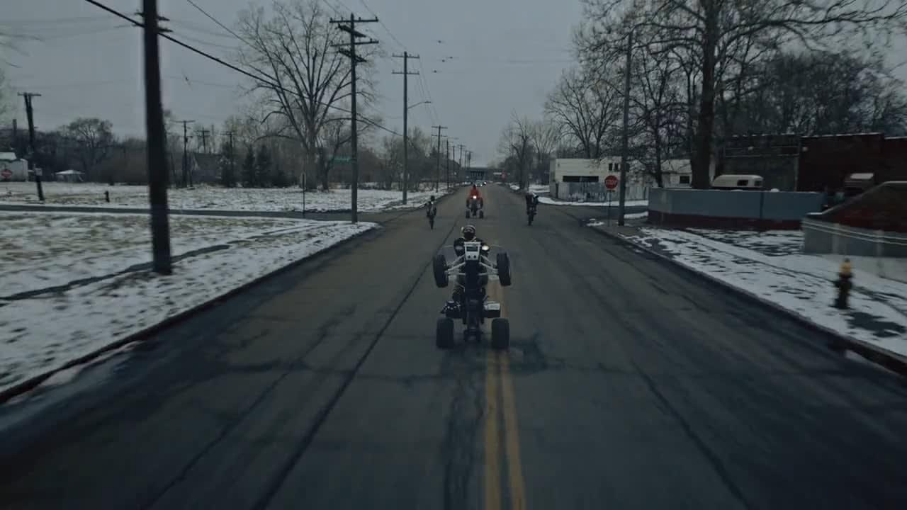 Bikes Up, Guns Down