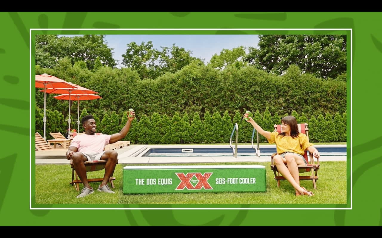 Dos Equis Seis-Foot Cooler