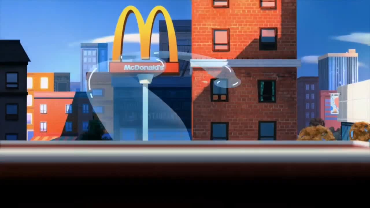 """McDonald's """"Only a Blueberry"""""""