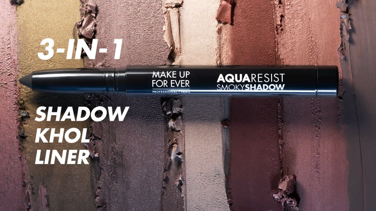 MAKE UP FOR EVER   Sephora - How to Create a Colorful Smoky Eye