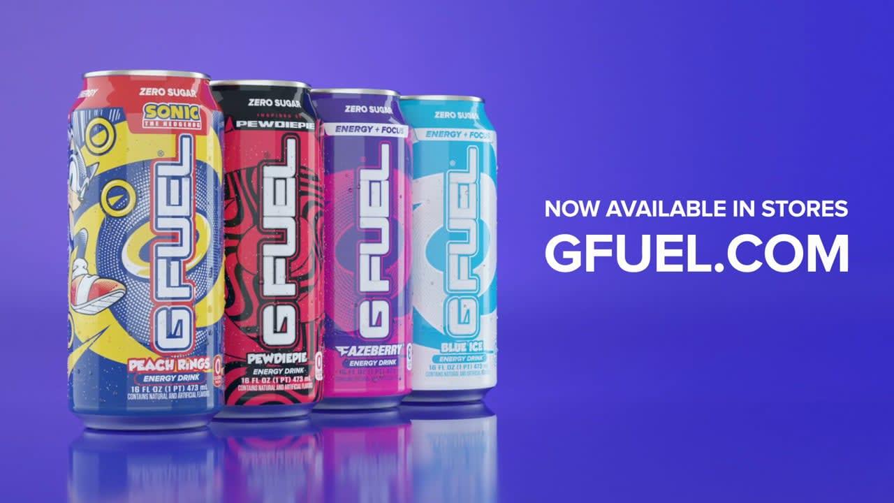 G Fuel: Four Flavors Spot
