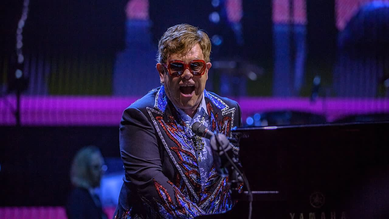 Elton John World Tour