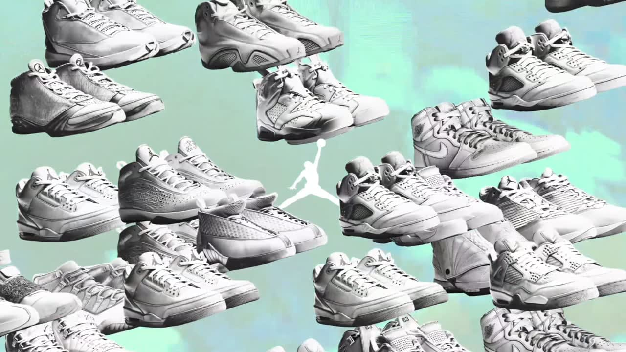 Air Jordan Retro J's on my feet
