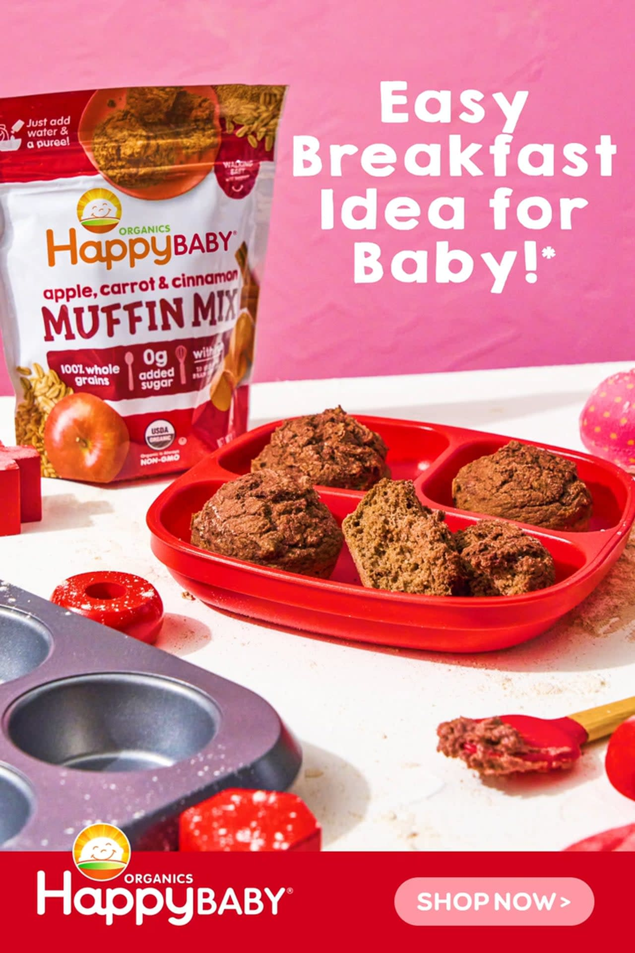 Happy Family Baking Mix Launch