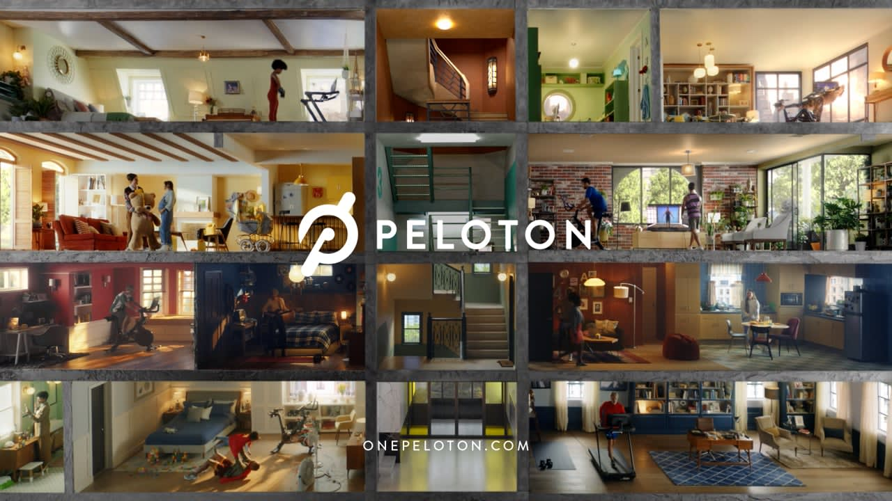 """Peloton """"Nothing Like Working Out From Home"""""""