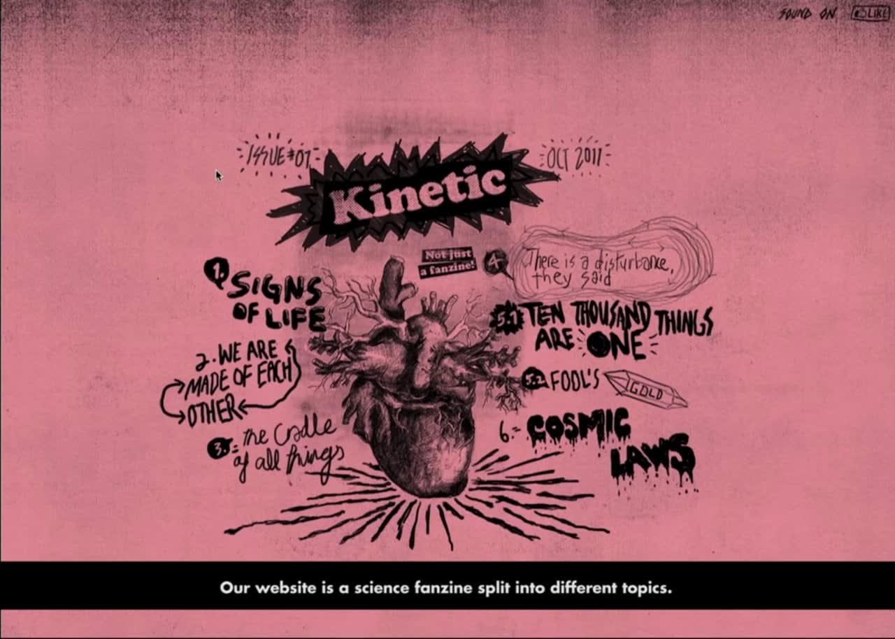 Kinetic V5 website and branding